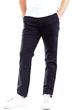 Calvin Klein Herren Ckj026 Slim Stretch Chino Pant Hose, Black