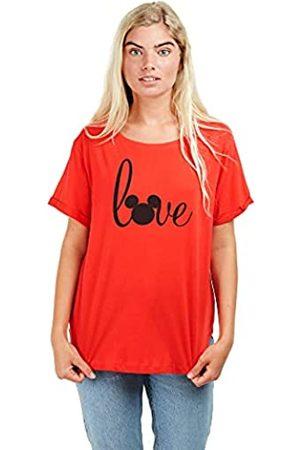 Disney Damen Love Mickey Mouse T-Shirt