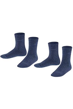 Esprit Unisex Kinder Foot Logo 2-Pack K SO Hausschuh-Socken, Blickdicht
