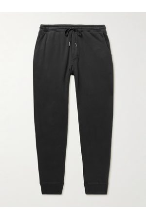 Tom Ford Tapered Garment-Dyed Cotton-Jersey Sweatpants