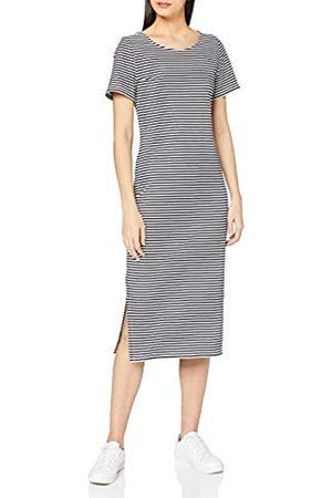 People Tree Damen Darika Stripe Dress Lässiges Kleid