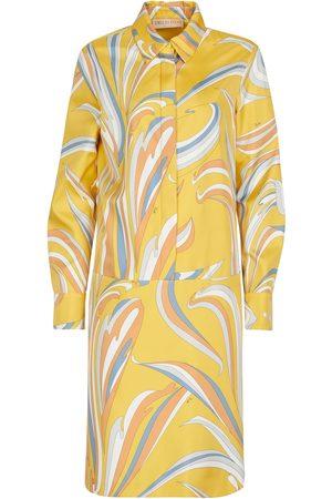 Emilio Pucci Damen Freizeitkleider - Hemdblusenkleid aus Seiden-Twill