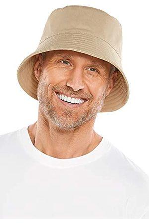 Coolibar LSF 50+ Herren Gavin Cotton Bucket Hat – Sonnenschutz - - L/XL