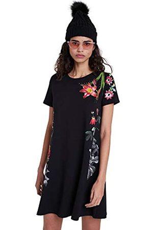 Desigual Womens Vest_Caroline Casual Dress, Black