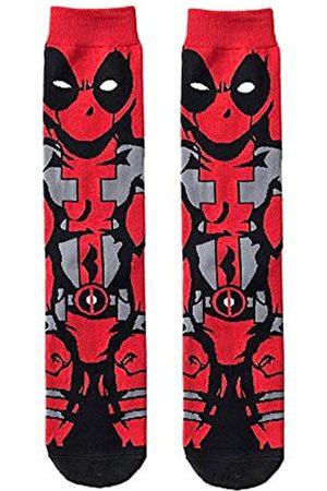 Grand Clothing Outlet Super Hero Marvel Comics Deadpool Crew Socken