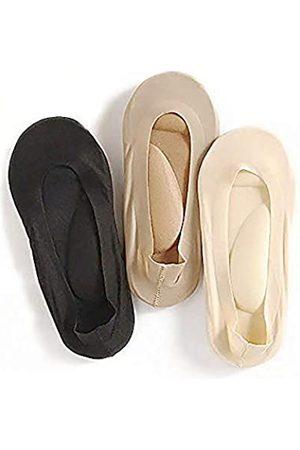 Milano 3 Pairs Arch Support 3D Massage Socks Foot Massage Health Care for Women Fashion Heel Socks