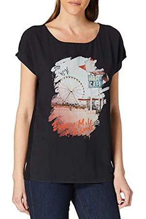 Garcia Damen X00002 T-Shirt, Black