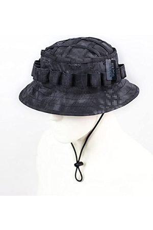 ZAPT Boonie Hat Military Camo Cap Hunter Sniper Ghillie Bucket Hüte Verstellbare Dschungel Buschhut (Typhonmuster)