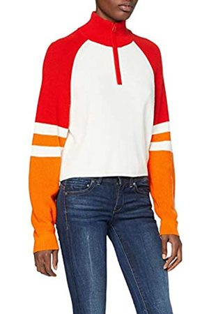 French Connection Damen Martha Clrblck Half Zip Jumper Pullover