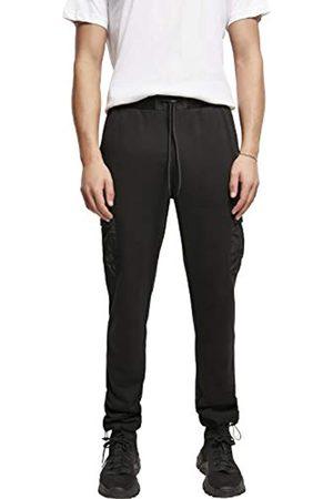 Urban classics Herren Commuter Sweatpants Trainingshose, Black