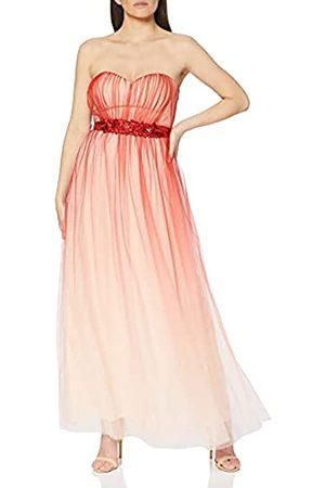 Little Mistress Damen Carissa Floral Belt Maxi Dress cocktailkleid