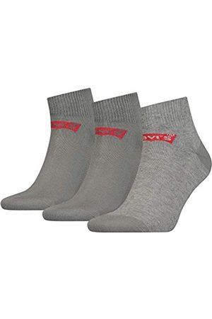 Levi's Unisex Mid Cut Batwing Logo Socken, 3er Pack