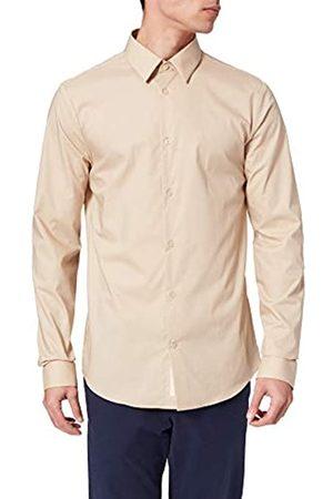 Scotch&Soda Herren Klassisches Slim Fit Shirt aus Baumwoll-Elasthan-Mischung Hemd