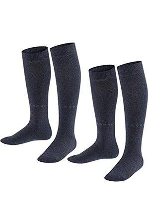 Esprit Unisex Kinder Foot Logo 2-Pack K KH Hausschuh-Socken