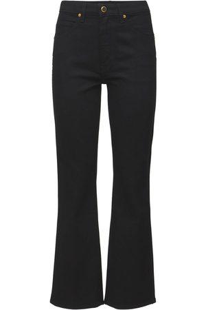 "Khaite Jeans Aus Baumwolle Im Bootcut ""vivian"""