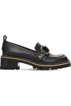 """See by Chloé 40mm Hohe Lederloafers """"erine"""""""