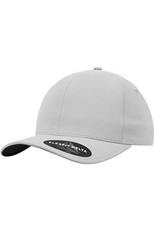 Flexfit Delta Baseball Cap, Unisex Basecap aus Polyester für Damen und Herren, ohne Naht, wasserabweisend