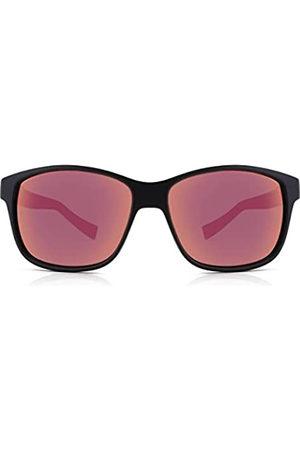 Julbo Powell Sonnenbrille Noir Mat/Rouge Unisex