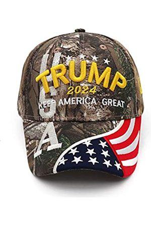Idealforce Trump 2024 Cap Keep America Great Hat MAGA Camo Bestickte Mütze Baseball Cap Verstellbar Einheitsgröße