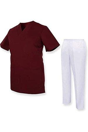 MISEMIYA Medizinische Uniform mit Oberteil und Hose - Small