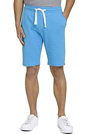TOM TAILOR Herren 1026023 Sweatpants Bermuda Shorts, 16028-Aquarius Turquoise