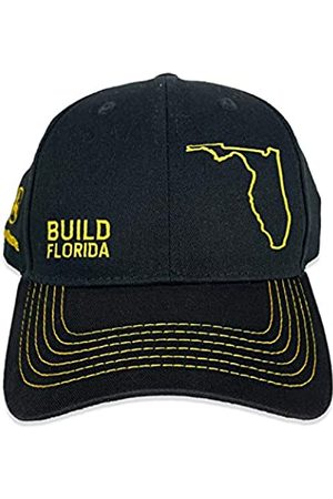 John Deere Build State Pride Full Twill Hat-Black and Grey