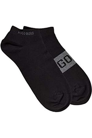 HUGO BOSS Herren 2P AS Logo CC Zweier-Pack Sneakers-Socken mit kontrastfarbenen Logo-Details