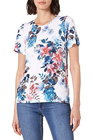 Blue Seven Damen Alloverdruck, Rundhals T-Shirt