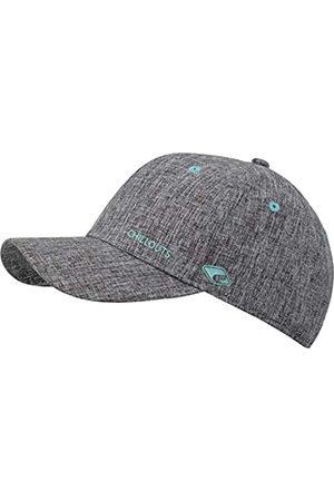 Chillouts Unisex Christchurch Baseballkappe, 20 Grey/Turquoise