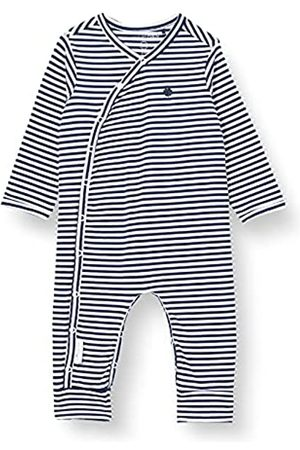 Noppies Unisex Baby U Playsuit Jrsy LS Noorvik Kleinkind-Strampelanzug, Navy-P555