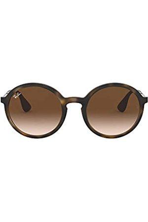 Ray-Ban Unisex RB4222 Sonnenbrille, Mehrfarbig (Gestell: Havana/Gunmetal, Gläser: Verlauf 865/13)