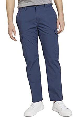 TOM TAILOR Herren 1025037 Travis Cargo Hose, 11043-Vintage Indigo Blue