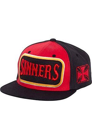 King kerosin Herren Snapback Cap   Flat Brim Cap   3D Stickerei   Baumwolle Sinners 3D