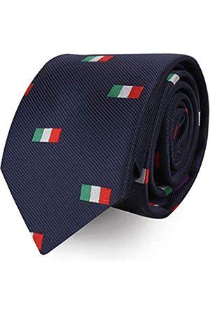 AUSCUFFLINKS Sports & Speciality Krawatten   Krawatten für Herren   gewebte schmale Krawatte   Geschenk für Arbeitskollegen   Geschenk für Jungs - Grün - Dünn