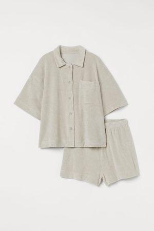H&M Schlafanzug aus Frottee