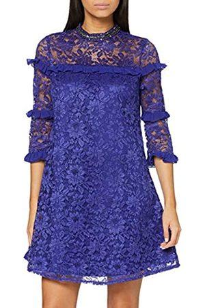 Little Mistress Damen Lace Shift Kleid, (Cobalt)