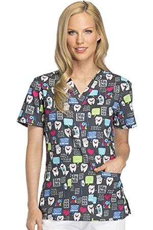 Dickies Damen V-Neck Top Medizinische Berufskleidung