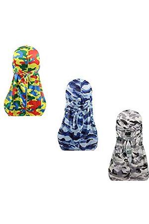 DIY Silky Durags Kopfbedeckung für Männer und Frauen