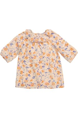 BONPOINT Baby Bedrucktes Kleid Flavili aus Baumwolle