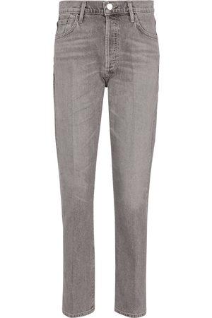 Goldsign High-Rise Slim Jeans Benefit