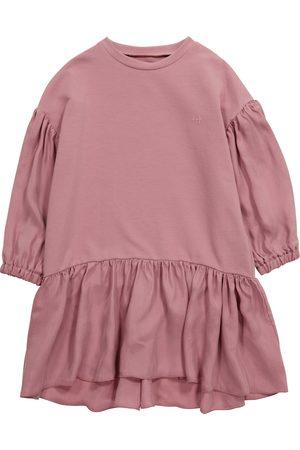 Il gufo Kleid aus Baumwoll-Jersey