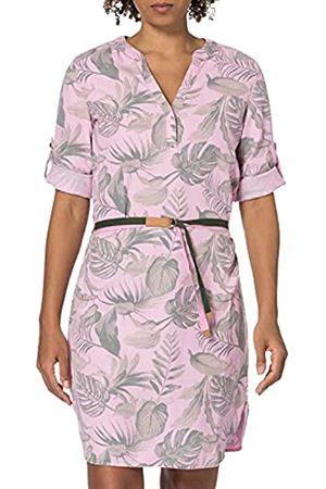 Timezone Damen Printed Tencel Dress Lässiges Kleid