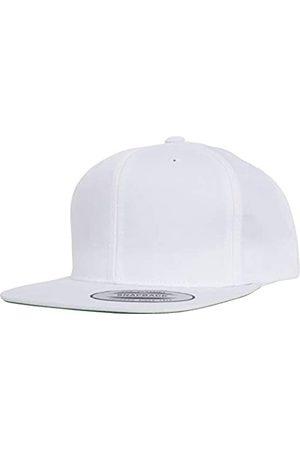 Flexfit Kinder Pro-Style Twill Snapback Youth Cap Kape, White