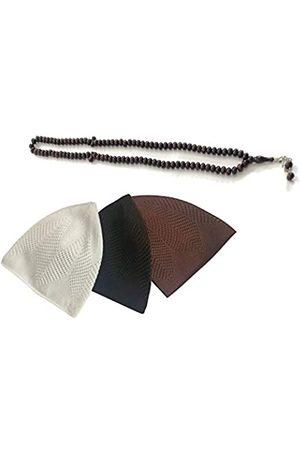 BAYKUL Kufi Hüte für muslimische Männer, 3 Stück, perfektes Ramadan-Geschenk