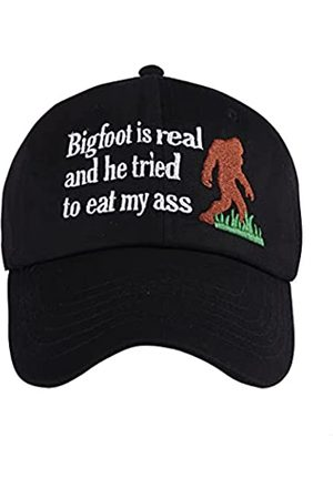 GEANBAYE Bigfoot is Real and He Tried To Eat Hat 100% Baumwolle Exquisite Stickerei Baseball Hüte
