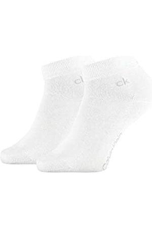 Calvin Klein Socks Mens Casual Flat Knit Cotton Men's Quarter (2 Pack) Socks