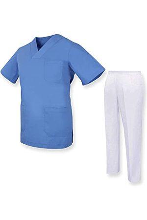 MISEMIYA Unisex-Schrubb-Set - Medizinische Uniform mit Oberteil und Hose ref.81782 - Large