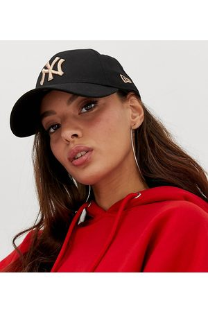 New Era – 9Forty – Exklusive Kappe in mit NY-Aufschrift in Roségold