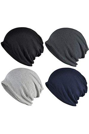 ELLEWIN Beanie-Mütze aus Baumwolle, Hip-Hop, weich, leicht, für Erwachsene, Zwergmütze