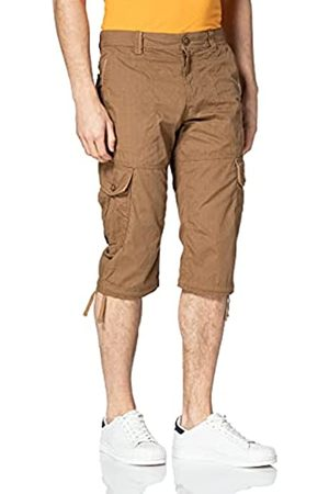 TOM TAILOR Herren 1026235 Max Overknee Cargo Bermuda Shorts, 27216- Bean Design